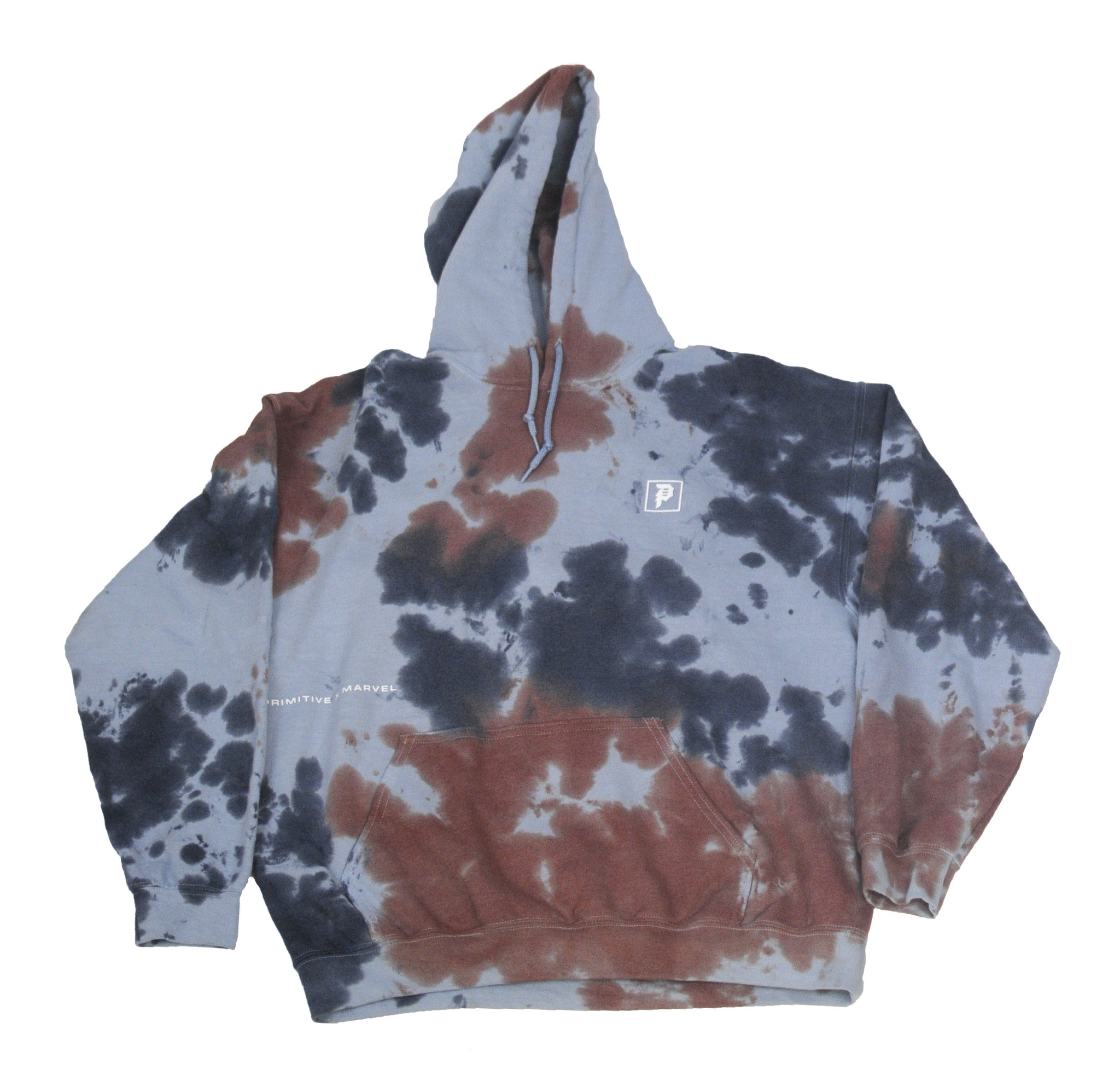 PRIMITIVE PRIMITIVE VENOM HOODIE WASHED BLUE