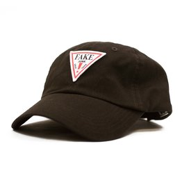 FAKE JUNK FAKE JUNK PATCH DAD HAT BROWN