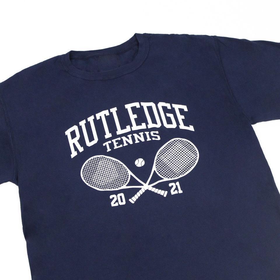 BLUETILE BLUETILE RUTLEDGE TENNIS CLUB T-SHIRT NAVY