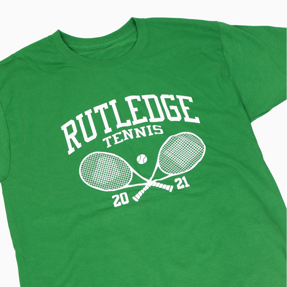 BLUETILE BLUETILE RUTLEDGE TENNIS CLUB T-SHIRT SHAMROCK
