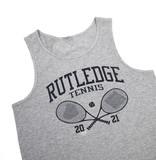 BLUETILE BLUETILE RUTLEDGE TENNIS CLUB TANK GREY