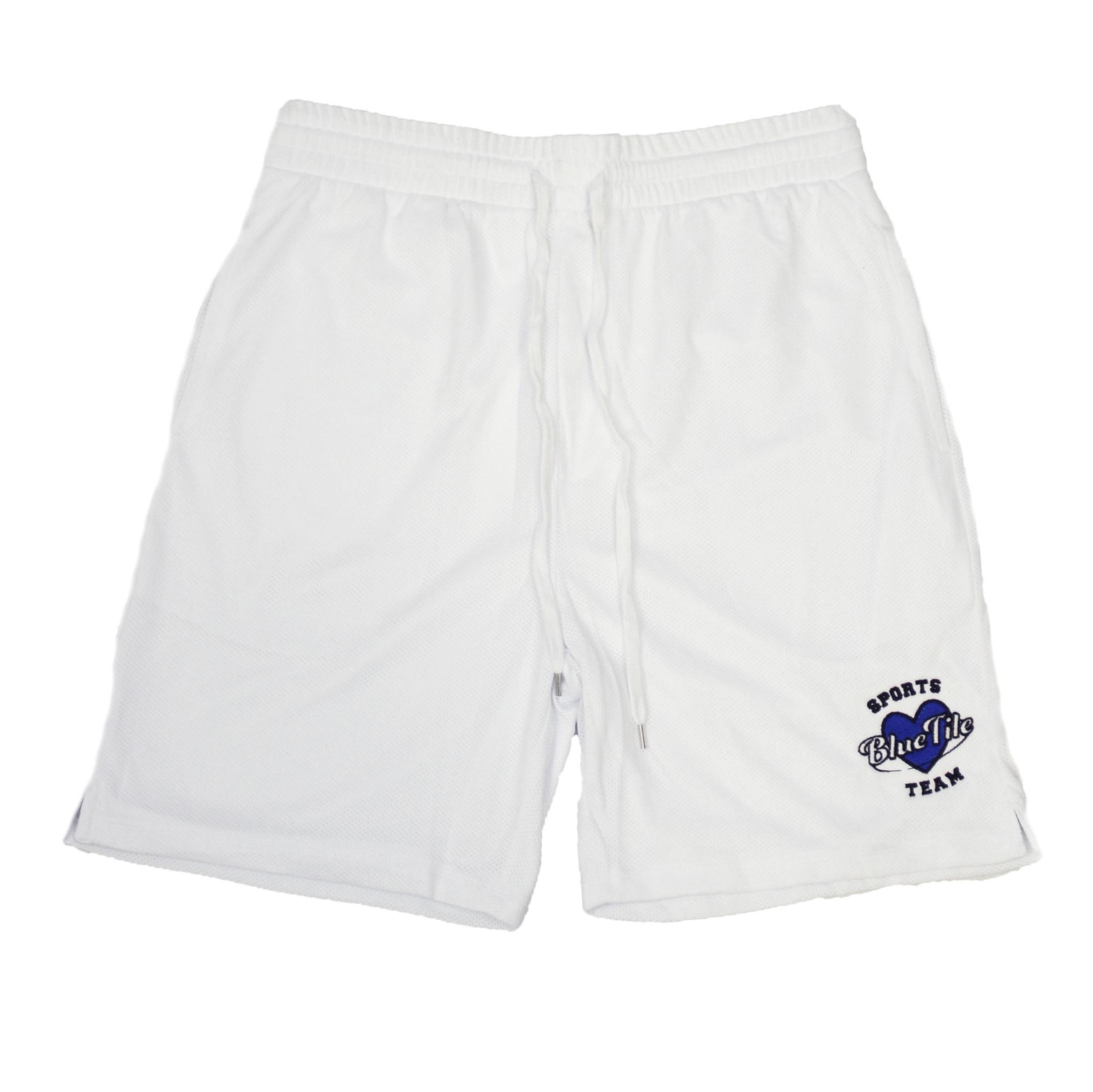BLUETILE BLUETILE SPORTS BASKETBALL SHORTS WHITE