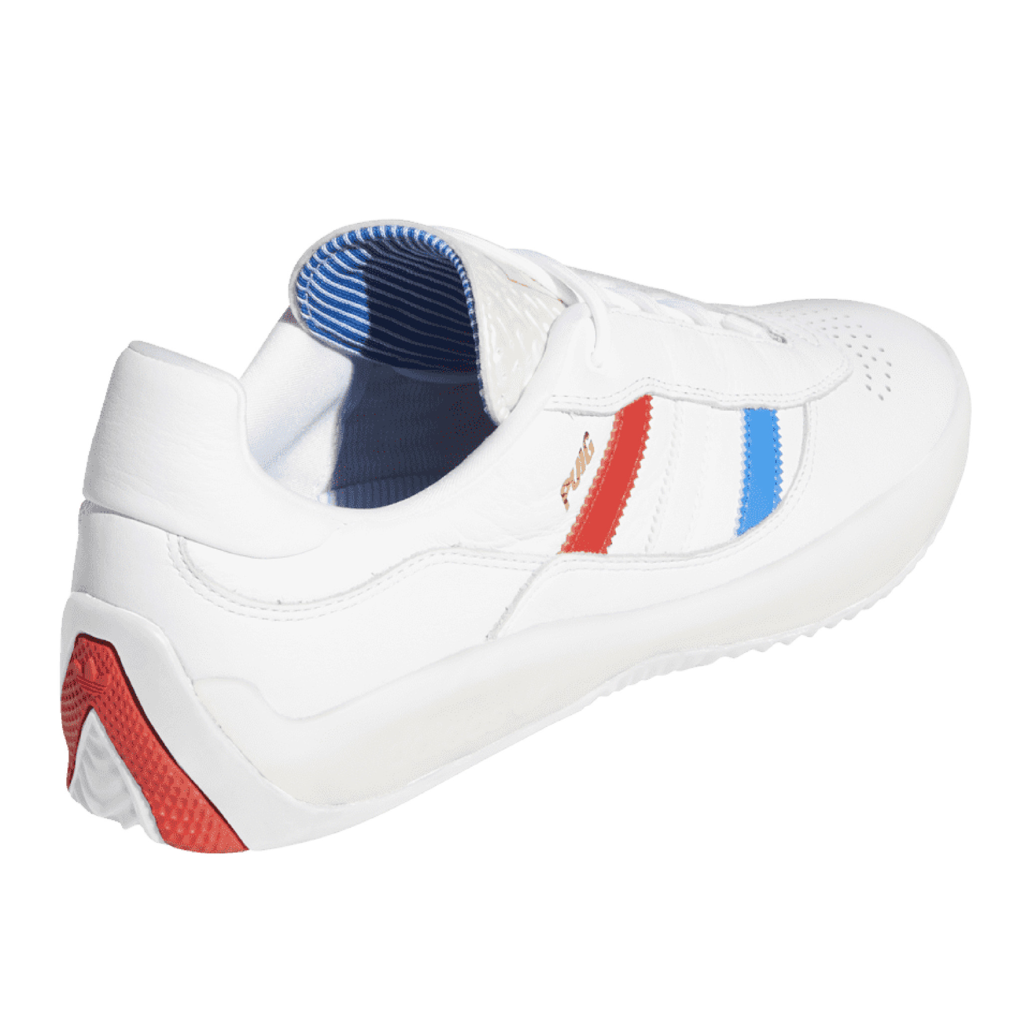 ADIDAS ADIDAS PUIG CORE WHITE / BLUE / RED