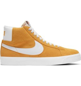 NIKE SB BLAZER MID UNIVERSITY GOLD / WHITE