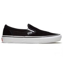 VANS VANS SKATE SLIP-ON BLACK / WHITE