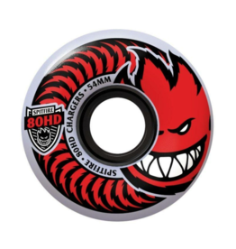 SPITFIRE SPITFIRE 80HD CHARGER CLASSICS 58MM CLEAR/RED