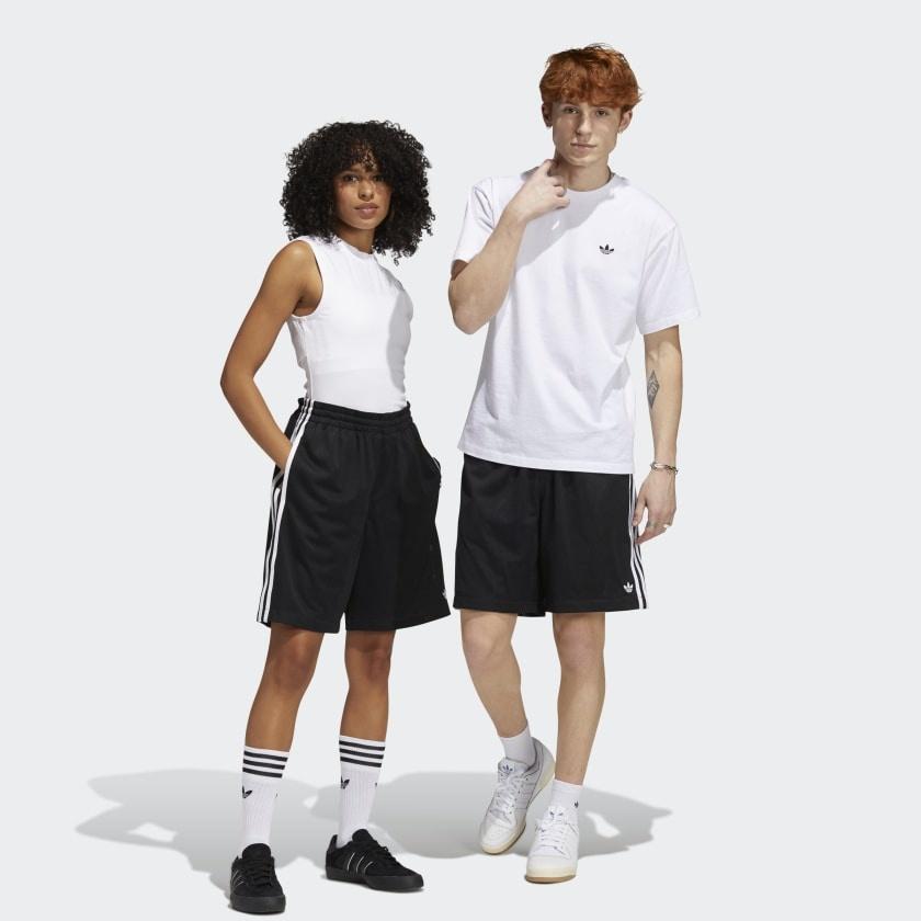 ADIDAS ADIDAS BBALL SHORT BLACK / WHITE