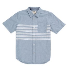 VANS VANS WALLACE SS BUTTONDOWN SHIRT BLUE MIRAGE