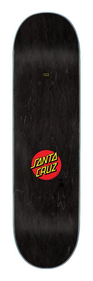 SANTA CRUZ SANTA CRUZ SCREAMING HAND 8.6 MATTE BLACK