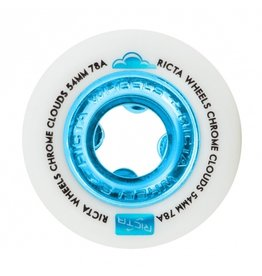 RICTA RICTA CHROME CLOUDS 78a 54mm WHITE/BLUE