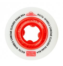 RICTA RICTA CHROME CLOUDS 86a 56mm WHITE/RED