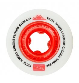 RICTA RICTA CHROME CLOUDS 86a 54mm WHITE/RED