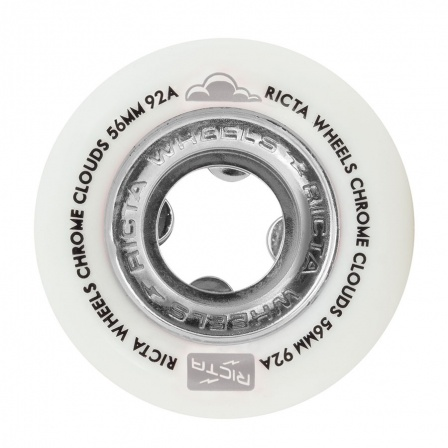 RICTA RICTA CHROME CLOUDS 92a 56mm WHITE/BLACK
