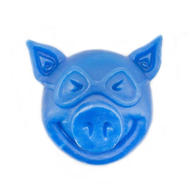 PIG HEAD RAISED CURB WAX BLUE