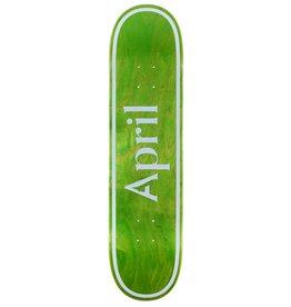 APRIL APRIL OG LOGO 8.125 GREEN INVERT