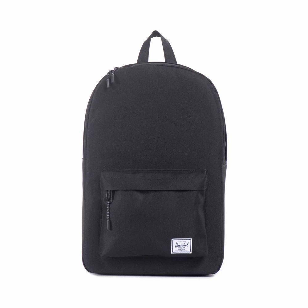 HERSCHEL HERSCHEL CLASSIC BACKPACK BLACK - Bluetile Skateboards f6d4d9b21c
