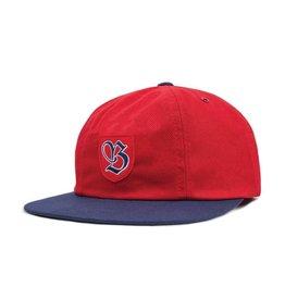 BRIXTON BRIXTON SNIDER CAP RED / NAVY