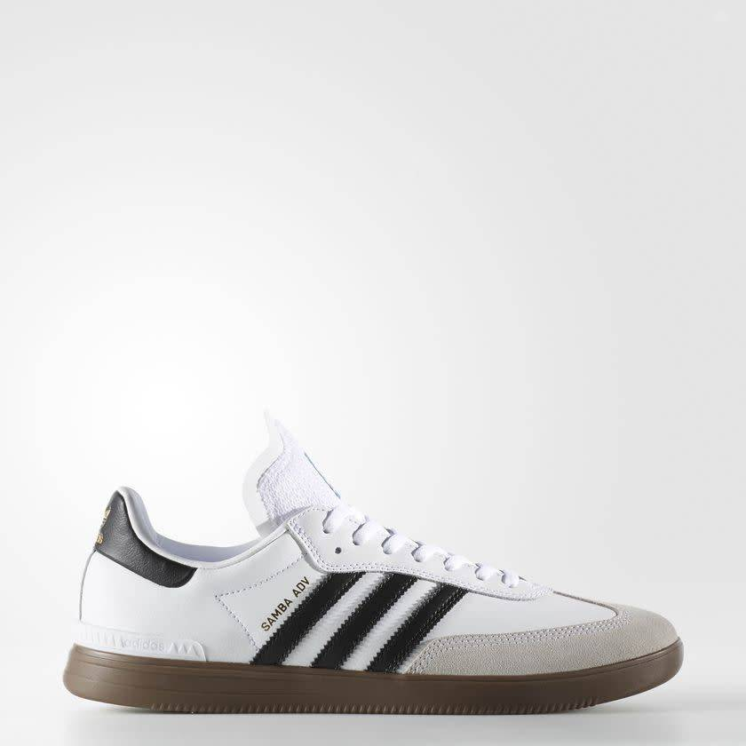 the latest 8cd5c fa531 ADIDAS SAMBA ADV WHITE  BLACK  GUM