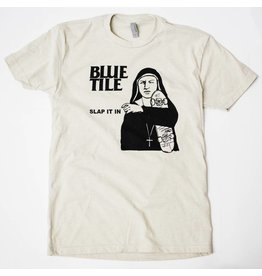BLUETILE BLUETILE SLAP IT IN RMX T-SHIRT SAND / BLACK