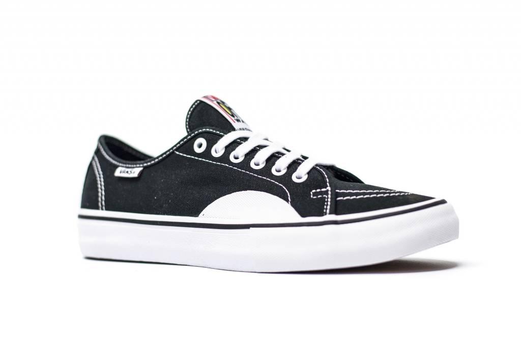 35a9a805f7 VANS AV CLASSIC PRO (RUBBER) BLACK   WHITE - Bluetile Skateboards