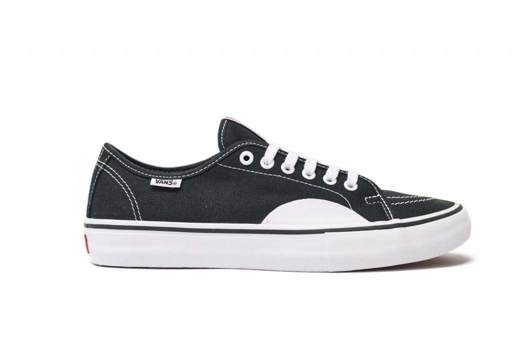 35a9a805f7 VANS AV CLASSIC PRO (RUBBER) BLACK   WHITE - Bluetile Skateboards