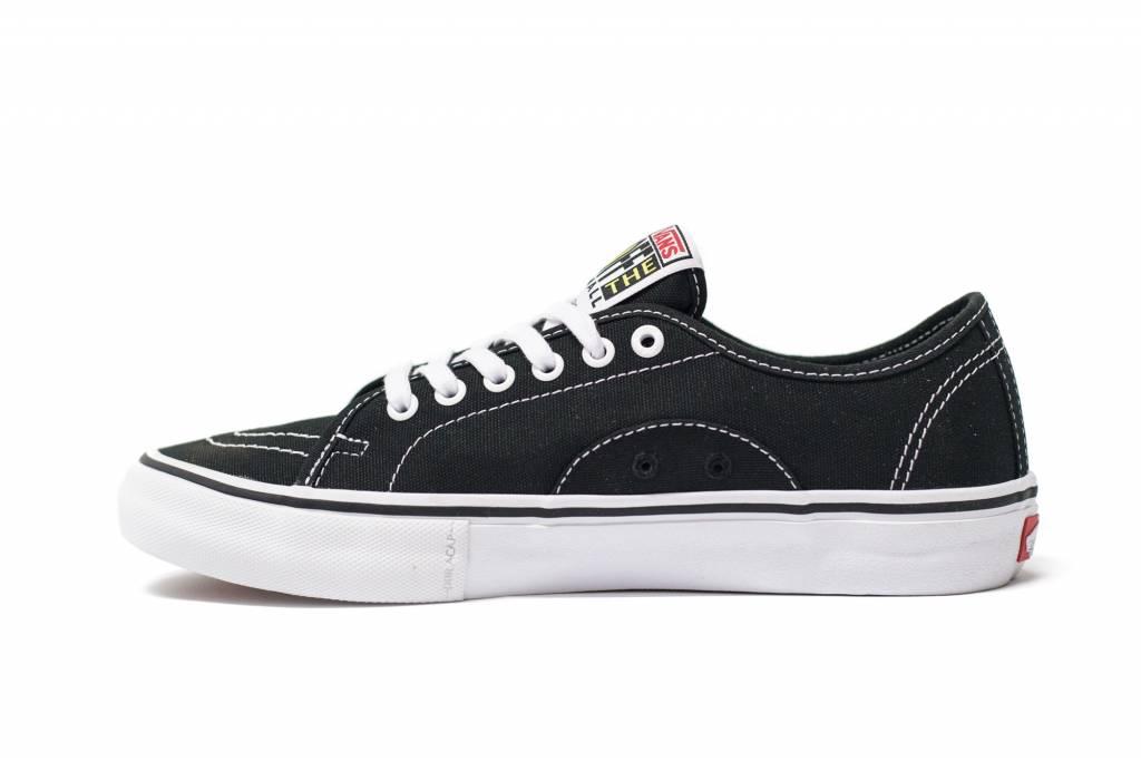 cf256617a97d15 VANS AV CLASSIC PRO (RUBBER) BLACK   WHITE - Bluetile Skateboards
