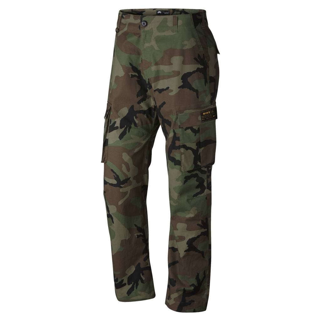 NIKE SB FLEX FTM CAMO PANTS - Bluetile Skateboards bb4f9ed817b