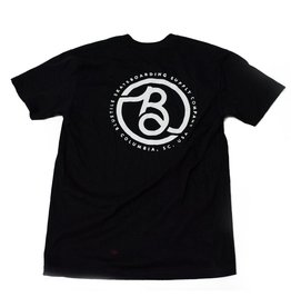 BLUETILE BLUETILE SUPPLY CO T-SHIRT BLACK / WHITE