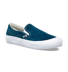 c1474359160 Bluetile Brand · Skate · Footwear · Apparel · Sale · VANS VANS SLIP ON PRO  (TOE CAP) REFLECTING POND   WHITE