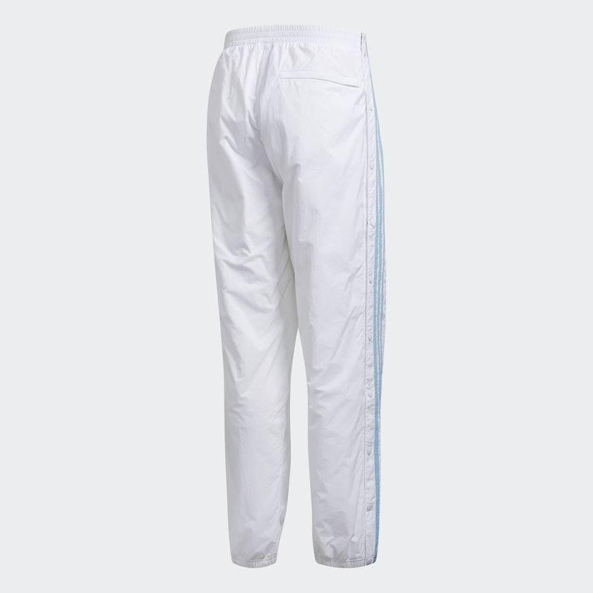 313cc9aea63 ADIDAS X KROOKED TRACK PANT WHITE   CLEAR BLUE - Bluetile Skateboards