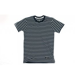 BLUETILE BLUETILE SURPLUS STRIPED TEE NAVY / WHITE