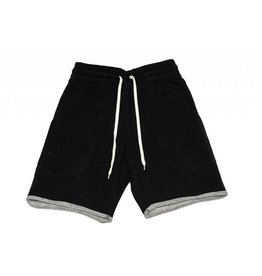 BLUETILE BLUETILE SURPLUS SWEAT SHORT BLACK