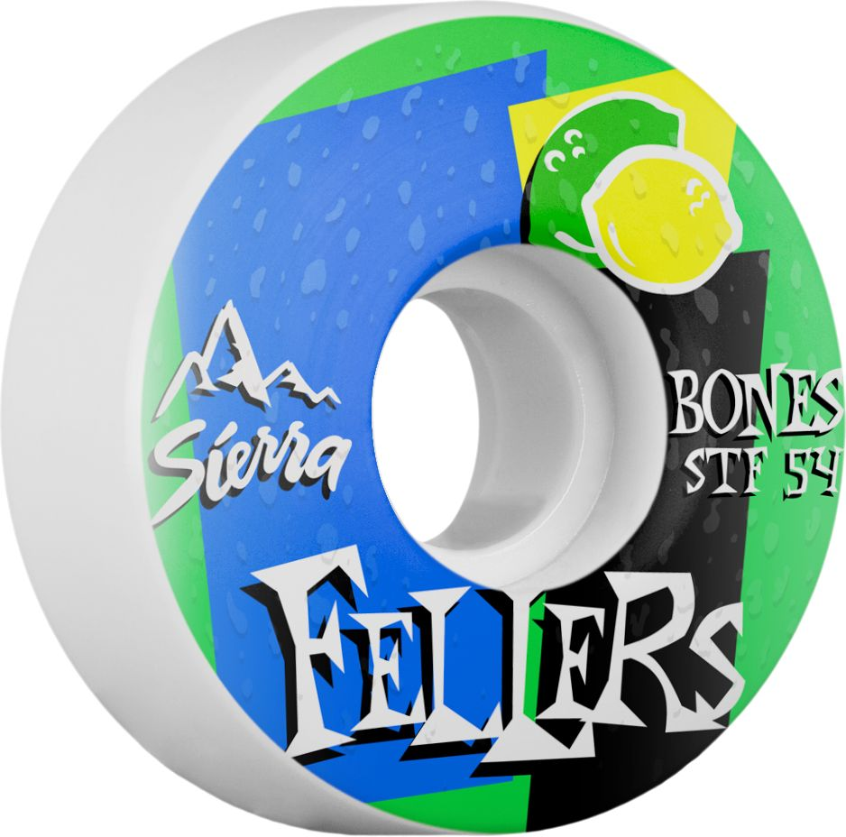 BONES BONES WHEELS STF PRO FELLERS MIST 54MM V3