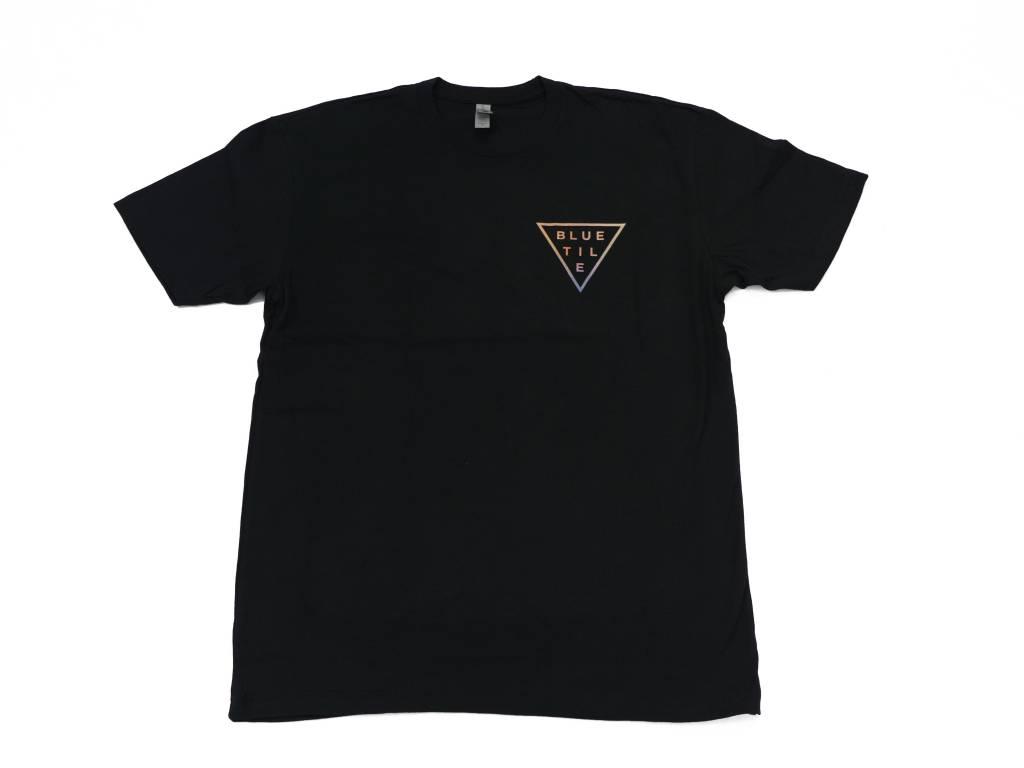 BLUETILE BLUETILE TRI-DYE T-SHIRT BLACK