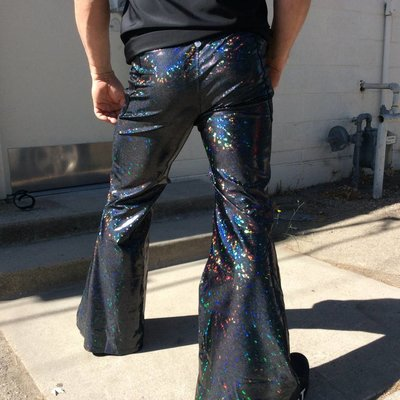Sea Dragon Studio Mens Holographic Flares - Black