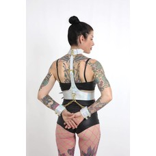 Holosexual Keeper Harness - Silver