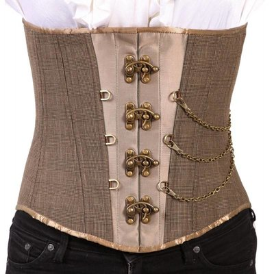 Timeless Trends Mens Steampunk Corset