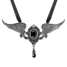 Alchemy England 1977 My Soul from the Shadow Necklace (Black)