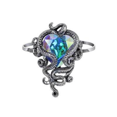 Alchemy England 1977 Heart Of Cthulhu Sprung Bracelet
