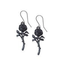 Alchemy England 1977 The Romance of the Black Rose Earrings