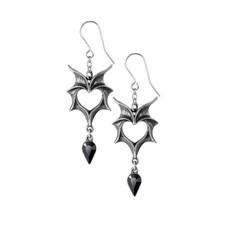 Alchemy England 1977 Love Bats Earrings