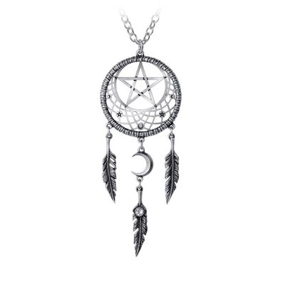 Alchemy England 1977 Pagan Dream Catcher Pendant