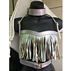 Holosexual No Tassle Hassle Harness w/ Collar - Silver
