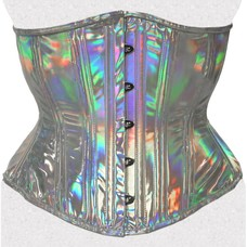 Opal Holographic Corset 22