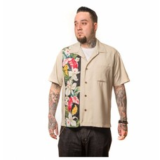 Steady Hibiscus Tiki Panel Shirt