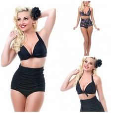 Unique Vintage Monroe High Waist Bottom