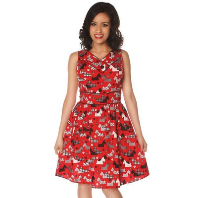 Retrolicious Scottie Love Dress