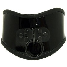 Kookie Patent Leather Posture Collar