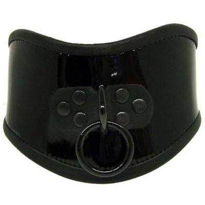 Kookie Patent Leather Posture Collar