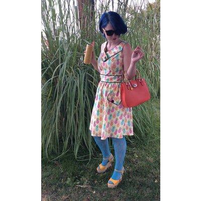 Retrolicious Pineapple Dress
